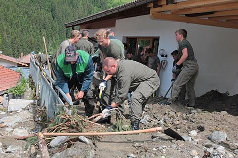 Bundesheer-Soldaten im Einsatz