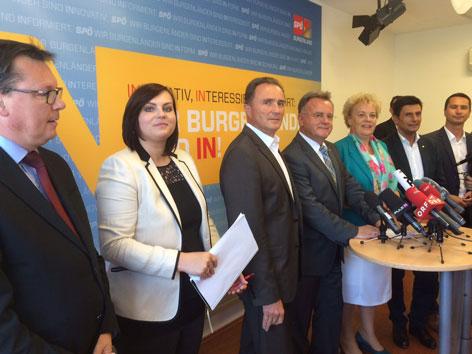 Das neue SPÖ-Regierungsteam