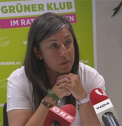 Grünen-Chefin Maria Vassilakou