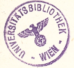 NS Stempel in Buch