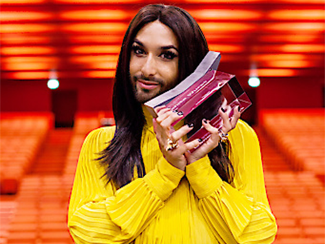 Song-Contest-Siegerin Conchita Wurst
