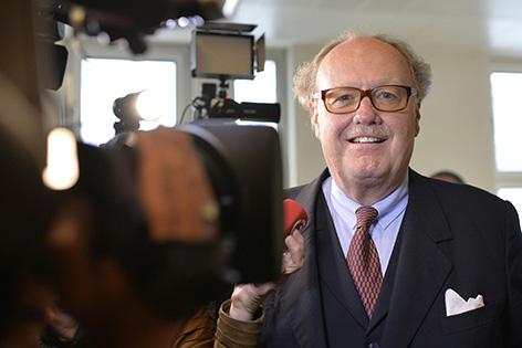 Lobbyist Alfons Mensdorff-Pouilly anl. des Tetron-Prozesses am Straflandesgericht Wien