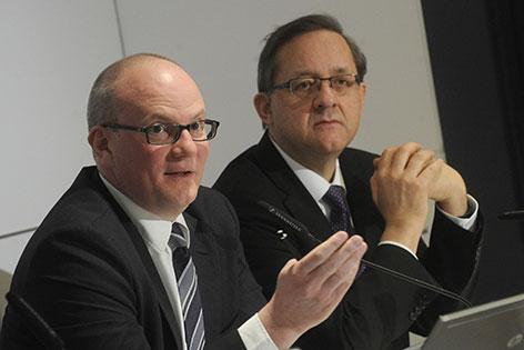 Julian Jäger und Günther Ofner