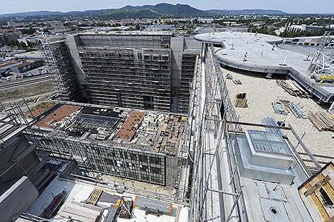 Baustelle Krankenhaus Nord