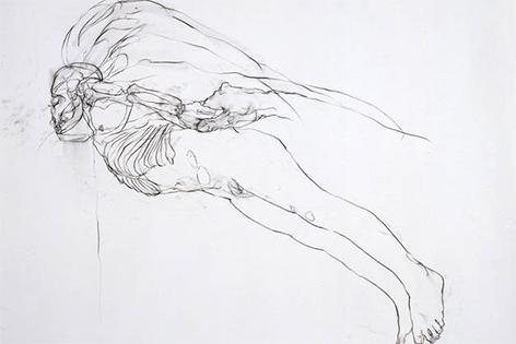 Chloe Piene, Flyer (bald), 2001