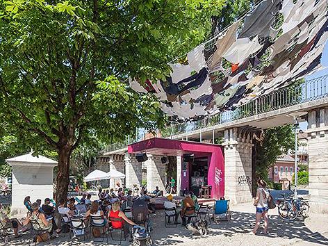 Lendhafen public Viewing