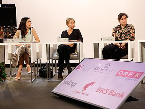 TDDL 2015 Pressekonferenz Preisträgerinnen