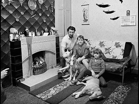 Personale, Residents of June Street, Salford, 1973