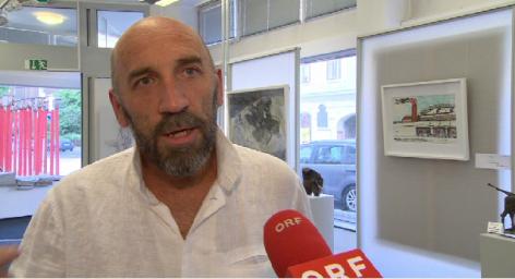 "Lubomir Hnatovic   ""Kunst gegen Gewalt"""