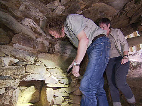 Höhlen- und Gängesystem