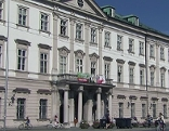 Das Schloss Mirabell, Sitz der Salzburger Stadtregierung und des Magistrats