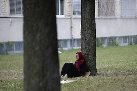 Flüchtlingslager Erstaufnahmezentrum Traiskirchen