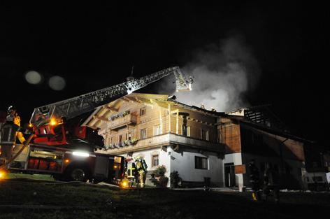 Brand Bauernhaus