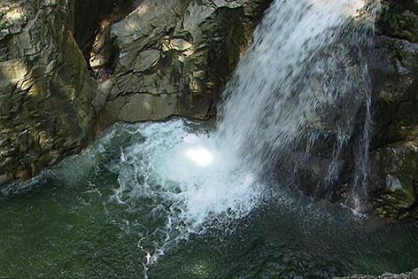 Wasserfall der Taugl im Tennengau