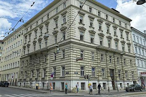 Gebäude auf der Nussdorfer Straße