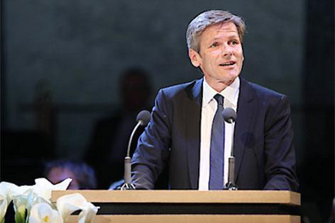 Kulturminister Josef Ostermayer