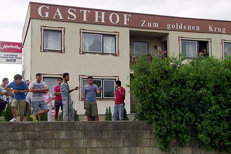 Gasthof Grafenbach Asyl Flüchtlinge Unterkunft
