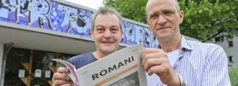 Straßenzeitung ROMANI