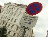 Verkehrstafel mit Hinweis auf Anrainerparken