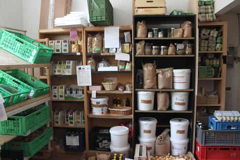 FoodCoop Lagerraum