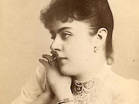 Mary Vetsera, die Geliebten von Kronprinz Rudolf