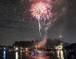 Lichterfest an der Alten Donau