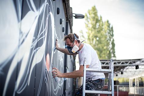 "Das Graffiti und Street Art Festival ""Calle Libre"" in Wien"