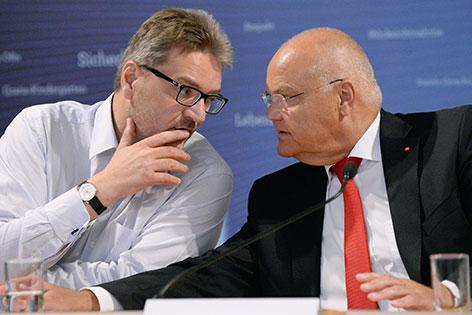 Peter Hacker und Harry Kopietz