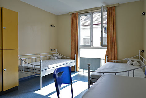Quartier für minderjährige Flüchtlinge