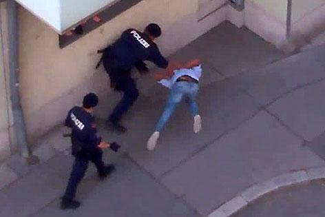 Mutmaßlicher Polizeiübergriff