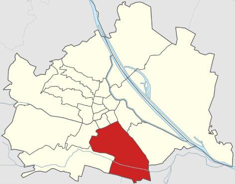 Stadtplan Wien - Favoriten