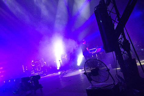 Alt-J auf Bühne