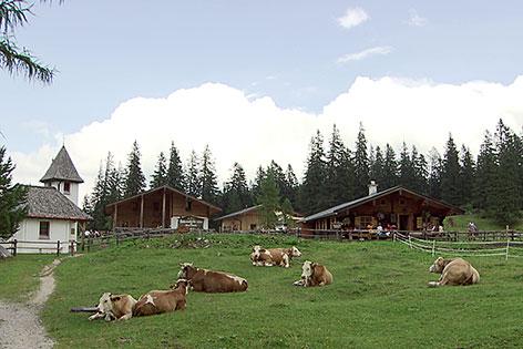 Kühroint Alm im Nationalpark Berchtesgaden