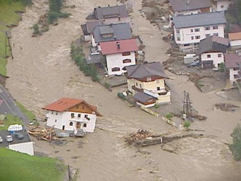 Unwetter Paznaun 2005