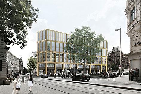 Glaspalast-Nachfolgegebäude NEUE Visualisierung