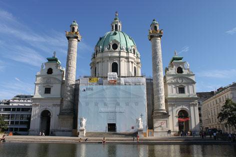 Karlskirche Renovierung