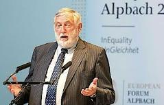 Politische Gespräche beim Europäischen Forum Alpbach