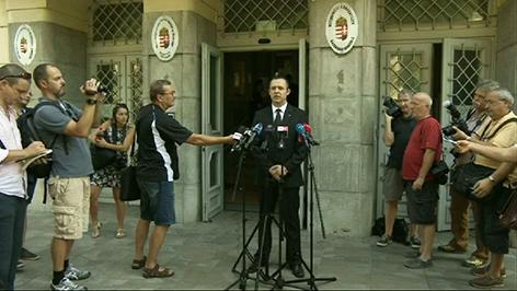 Sprecher der ungarischen Staatsanwaltschaft
