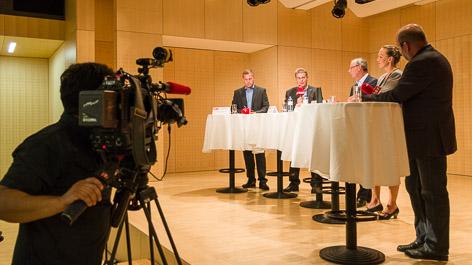 """ORF-""""Wahlfahrt"""" in Steyr"""