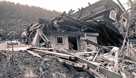 Murenkatastrophe Gassen