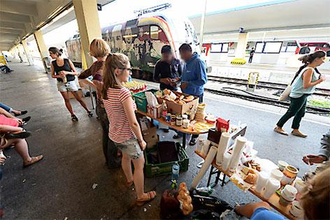 Hilfe am Westbahnhof