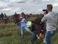 Ungarische Reporterin