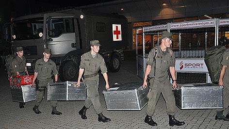 Beginn des Assistenzeinsatzes im Burgenland