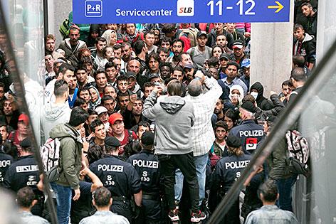 Polizei sperrte Rolltreppe am Hauptbahnhof ab