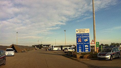 Grenzkontrollen Nickelsdorf