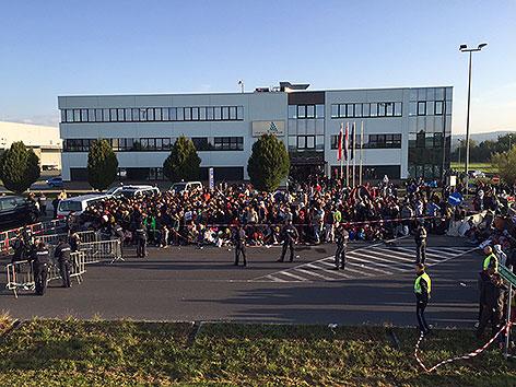 Flüchtlinge im Südburgenland