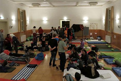 Flüchtlingsquartier