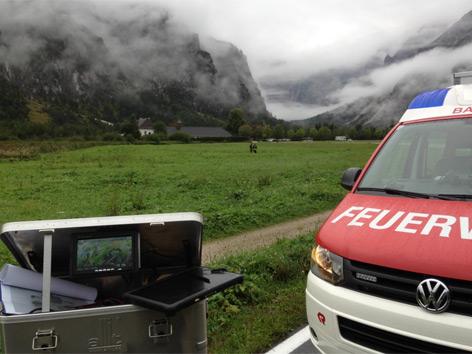 Bergsteiger von Bergrettung tot aufgefunden, Grünau im Almtal