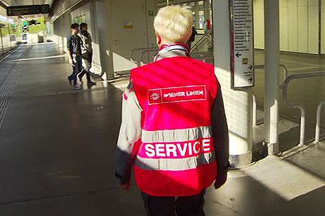 Neues Serviceteam der Wiener Linien