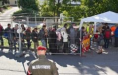 Asylkrise: Lage bei Freilassing